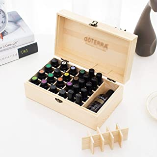 Essential Oil Storage Box Solid Oil Display Rack High-Grade Essential Oil Packaging Gift Box Essential Oil Box 28+1 (Color : Beige)