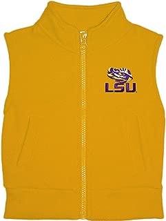 Louisiana State University LSU Tigers Baby and Toddler Polar Fleece Vest