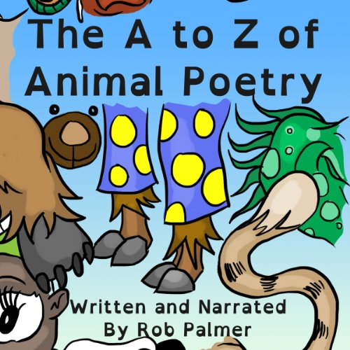 The A to Z of Animal Poetry audiobook cover art