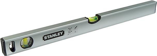 Stanley Waterpas klassiek (40 cm lengte, magnetisch, slagvast bloklibel, grote zijlibel) STHT1-43110