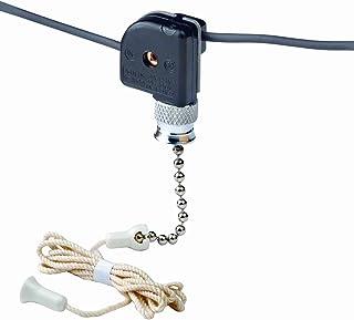 安くて良いLeviton 10097-8プルチェーンスイッチ、単極オンオフ;  1A-125V T、3A-125V、1A-250V; と..買う