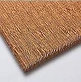 カラー置き畳 和紙表(清流 胡桃色)日本製 滑り止め付き 82cm×82cm×15mm