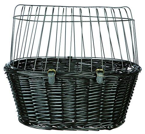 Trixie 2818 Cestino con griglia per bicicletta Nero 50 × 41 × 35 cm