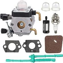 Kaymon FS45 Carburetor Air Filter Tune Up Kit for Stihl FS38 FS46 FC55 FS55R KM55 HL45 FS74 FS75 FS76 FS80 FS80R FC75 FC85 HL75 HT70 HT75 KM80 KM85 SP85 Replace 4140-120-0619 Zama C1Q-S186
