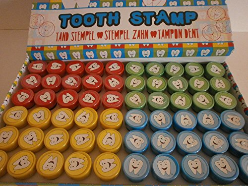 Schnooridoo 10 Zahn Stempel Zähne Mitbringsel Kindergeburtstag Tombola Give Away