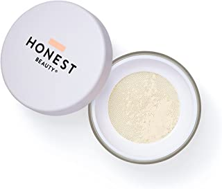 Honest Beauty Invisible Blurring Loose Powder | Blur, Mattify & Set Makeup | Talc Free, Paraben Free, Dermatologist Tested, Cruelty Free | 0.56 oz.