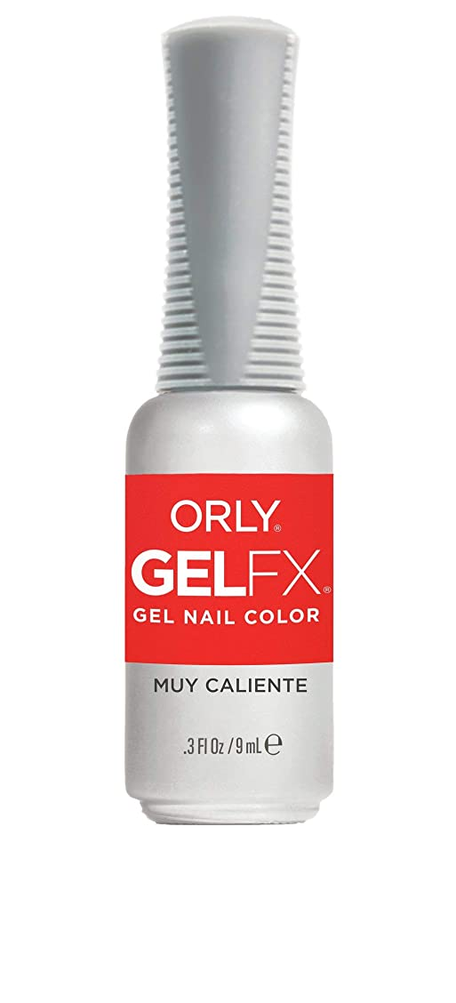 糸オレンジ性別ORLY Gel FX - Euphoria 2019 Collection - Muy Caliente - 0.3 oz / 9 mL