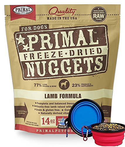 Primal Pet Food - Freeze Dried Dog Food 14-ounce...