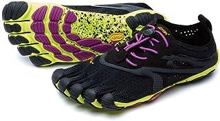 Vibram V-Run Black/Yellow/Purple (Women'S)