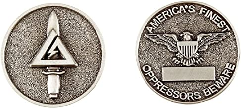 Delta Force Silver Challenge Coin
