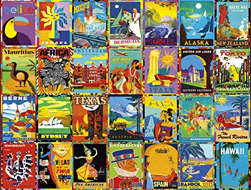 Buffalo Games - Going Places Collection - Colorful Destinations - 750 Piece Jigsaw Puzzle