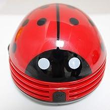 Low Noise Household Vacuum Cleaner New Mini Vacuum Cleaner Ladybug Desktop Keyboard ash Eraser Vacuum Cleaner Elxiwknvh