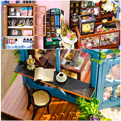 CUTEBEE『DIY木製ドールハウスRoseGarden』