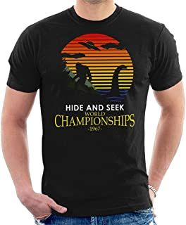 Bigfoot and Loch Ness Monster Hide and Seek Champions Men's T-Shirt
