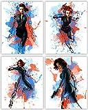 Black Widow Poster Collection - Sccarlett Johansson als The