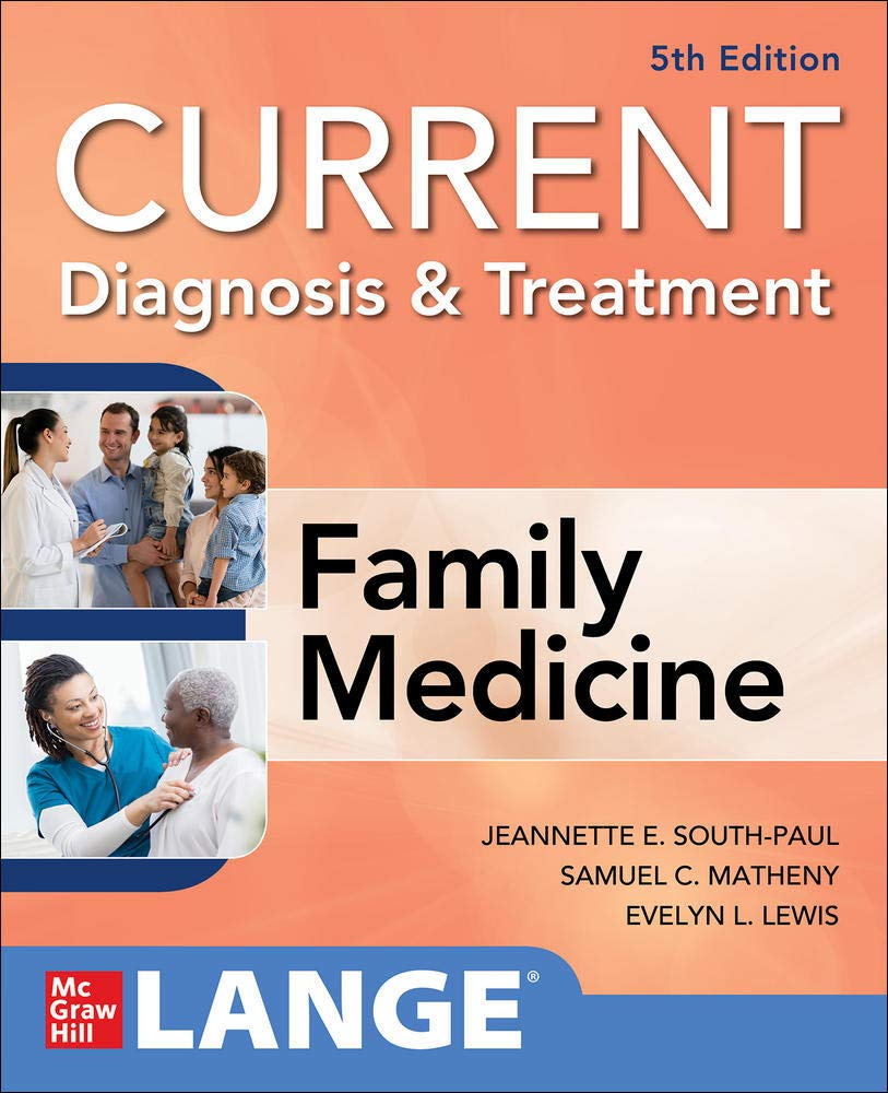 Download CURRENT Diagnosis & Treatment In Family Medicine, 5th Edition 