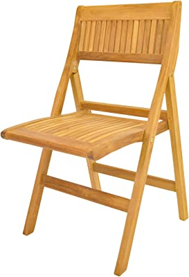 Anderson Teak Windsor Folding Chair, Dupione Bamboo