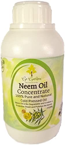 Go Garden Neem Oil for Plant Pest Control - Organic Pesticide for Plants and Flowers use for Plants Insects pesticide...