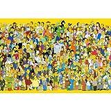 NO BRAND Familia educativos de Madera del Rompecabezas 300/500/1500 Piezas for Adultos Juguete de Pintura Decorativa del hogar del Regalo p122 (Color : A, Size : 300pc)