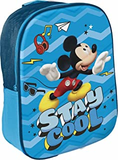 Disney Michy - Mochila infantil (29 cm), multicolor (Multicolor) - Star Disney Mickey Mouse & Friends_48551