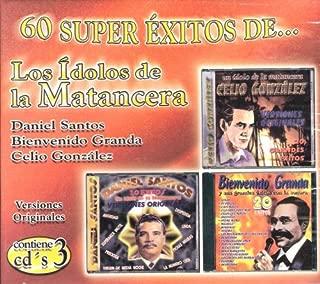 Los Idolos De La Matancera[boxset] 3 Cd's Versiones Originales 60 Canciones.daniel Santos,bienvenido Grande,celio Gonzalez..