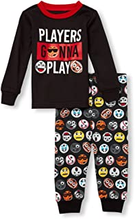 The Children's Place Baby Boys 2 Piece Long Sleeve Pajama Set