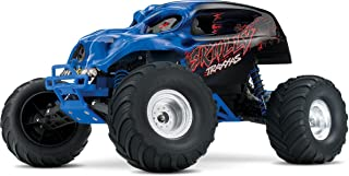 Traxxas Skully 1/10 Scale Monster Truck with TQ 2.4GHz Radio System, Blue