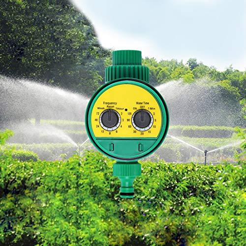 Hanks 'Shop. Park/Garten Elektronischer Water Timer Digital-Magnetventil Intelligente Bewässerung Sprinkler Controller Digitalwasserprogramme System MI