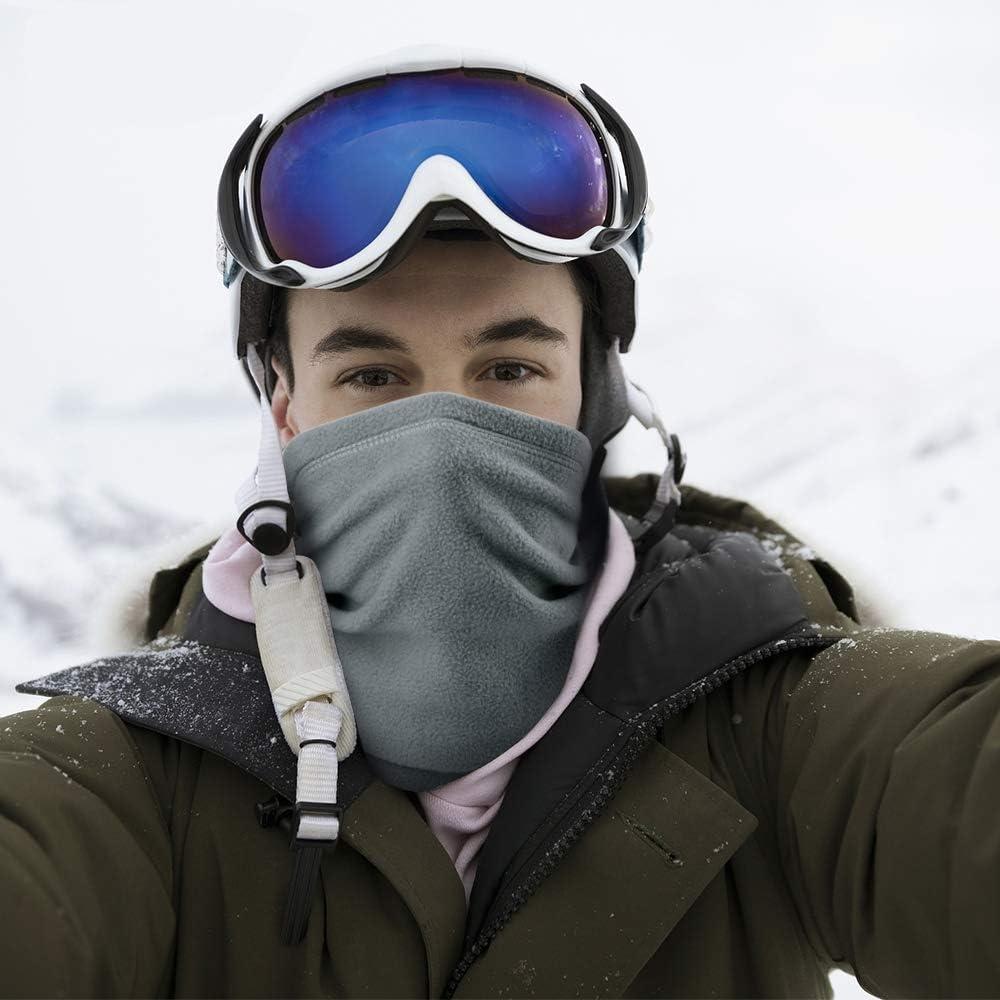 AXBXCX Cold Weather Ski Mask - Neck Gaiter Warmer for Winter Outdoor Sport