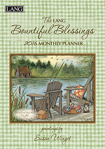 Lang Bountiful Blessings 2016 Monthly Planner by Susan Winget, January 2016 to March 2017, 8.25 x 12 Inches (1012096)