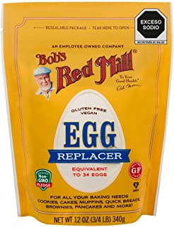 Bob's Red Mill Resealable Gluten Free Egg Replacer, 12 Oz (8 Pack)