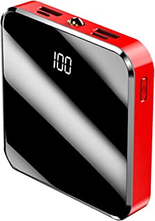 Pocket Power Bank 30 000 mah, typ-c 2,1 a snabbladdare med Led, dubbelt USB-bärbart externt batteri, kompatibelt med Iphon...