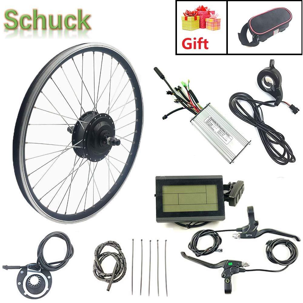 Schuck 36V 500W Kit de conversión de Motor de Bicicleta eléctrica ...