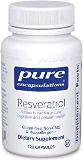 Pure Encapsulations - Resveratrol - Hypoallergenic Dietary Supplement for Antioxidant and Cardiovascular Support* - 120 Ca...