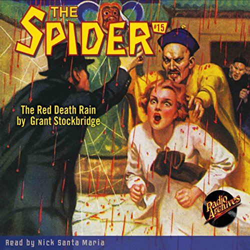 The Spider #15 audiobook cover art