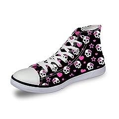 0c3a2eda253c Skull tennis black - Casual Women's Shoes