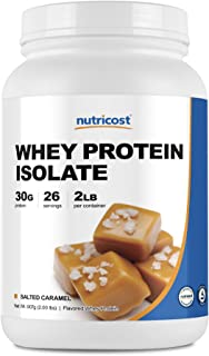 Nutricost Whey Protein Isolate Salted Caramel (2 LBS)