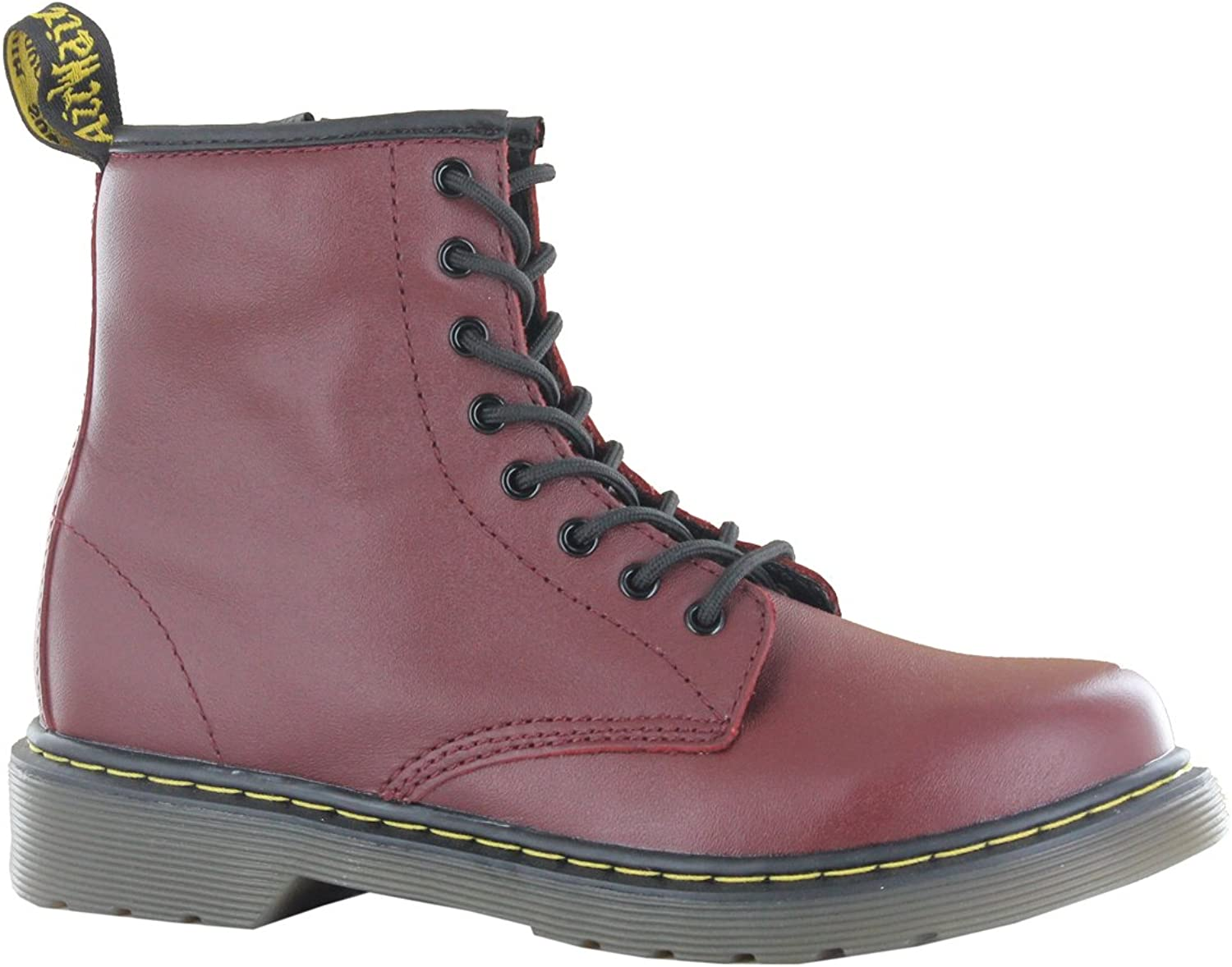 Dr.Martens Delaney Cherry Leather Juniors Boots