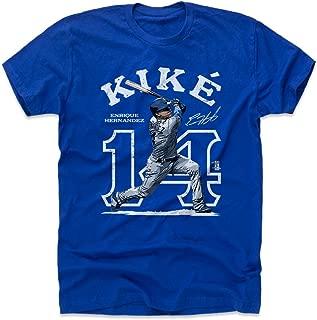 500 LEVEL Enrique Hernandez Shirt - Los Angeles Baseball Men's Apparel - Enrique Hernandez Outline
