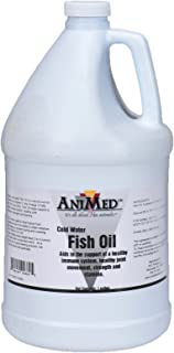 AniMed Fish Oil Cold Water Fish Oil for Horses, 1-Gallon