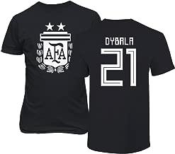 Tcamp Argentina 2018 National Soccer #21 Paulo Dybala World Championship Men's T-Shirt