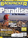Backpacker (April 2001, Volume 29, Issue 194, Number 3)