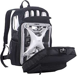 Smatree Phantom 4 Backpack for DJI Phantom 4/4 Pro (Original Styrofoam Case, Phantom 4 Battery, Propellers Not Included)