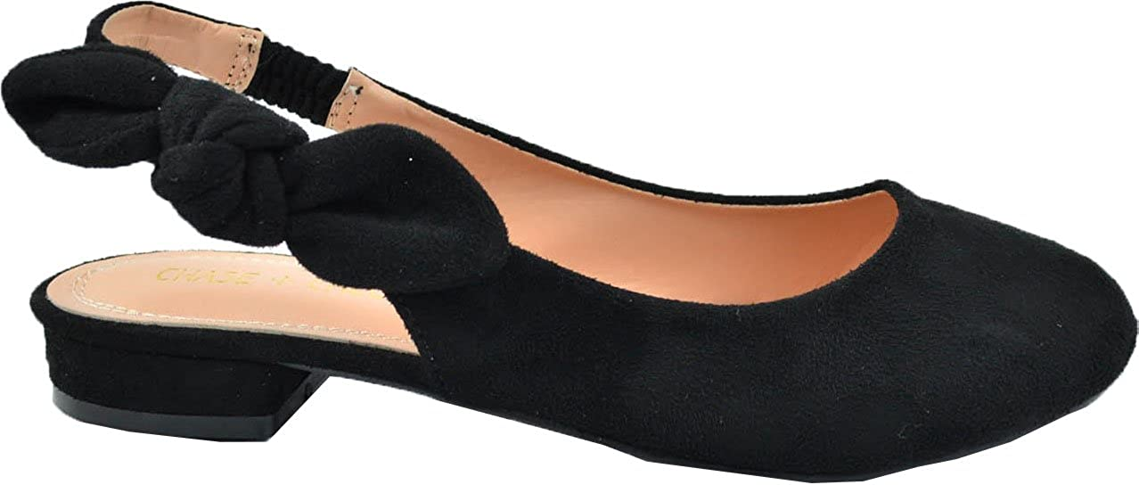 Chase Chloe Lizzy-1 Sacramento Mall Sling Back All items in the store Stacked Flats Heel Ballet