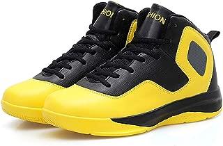Men's Mix-Color Wear-Resistant Elasticity Breathable Non-Slip Basketball Shoes Professional Trainer Basketball Shoe