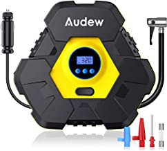 Audew Upgraded Portable Air Compressor Tire Inflator,12V 150PSI Air Pump with Auto Shut..