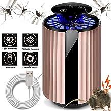 HXHH Recargable del hogar silencioso Asesino del Mosquito del USB, Pantalla táctil Completa del Asesino del Mosquito ultrasónico con el ratón Repelente, Conveniente para el Estudio Dormitorio