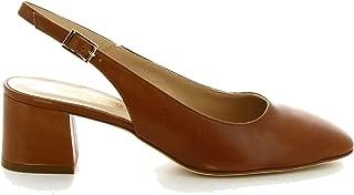 LEONARDO SHOES Luxury Fashion Womens 5297BROWN Brown Pumps   Season Permanent
