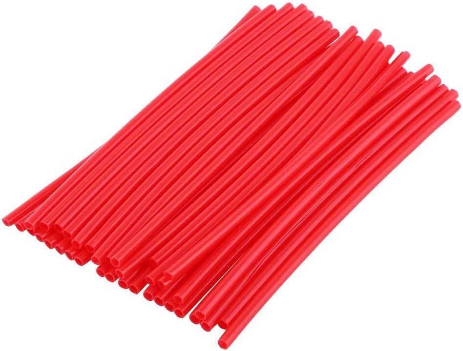 Keenso Spoke Skins 36Pcs Durable D Red Ranking TOP3 Bike Stable Ranking TOP5 Covers
