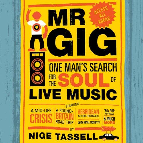 Mr. Gig audiobook cover art